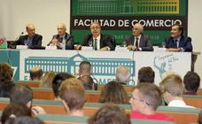 Inauguración del curso en la Facultad de Comercio de la Universidad de Valladolid