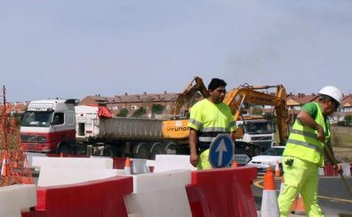 Las obras en la SG-20 cortarán el tráfico en el ramal en sentido Ávila hacia la CL-605