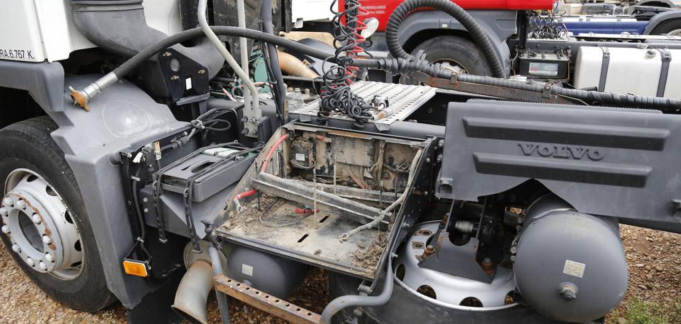 Roban 22 baterías de camión en un concesionario industrial de Torquemada