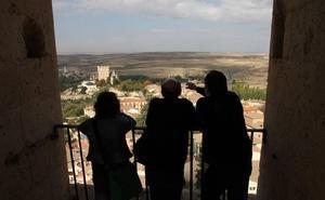 La Catedral de Segovia celebra con conferencias y un concurso fotográfico el quinto aniversario de las visitas a la torre