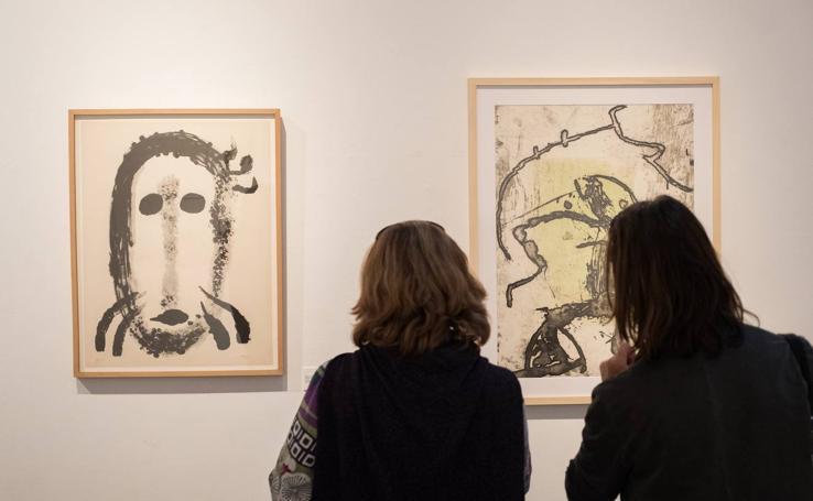 La sala de Las Francesas de Valladolid acoge la exposición 'Miró y Brossa. 100 años'