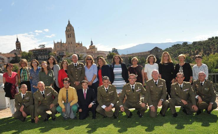 Toma de posesión del director del Archivo General Militar de Segovia