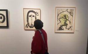 La sala de Las Francesas ilustra la relación poética y pictórica entre Brossa y Miró