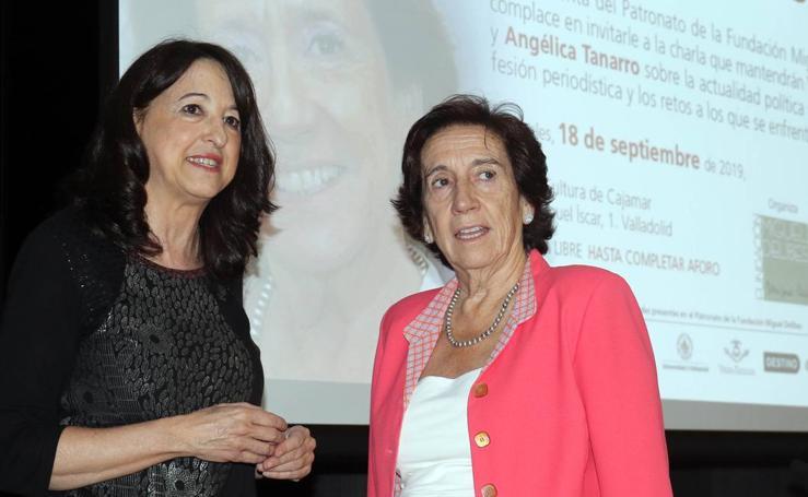 Conferencia de Victoria Prego en la Fundación Miguel Delibes