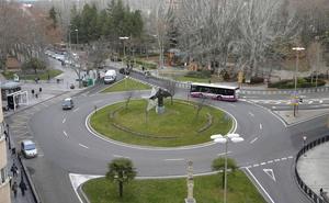 La reforma de Los Jardinillos de Palencia aparca de momento la conexión con la Calle Mayor