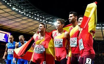 La IAAF anuncia oficialmente los rivales de España en el 4x400