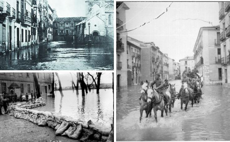 Inundaciones históricas en Valladolid