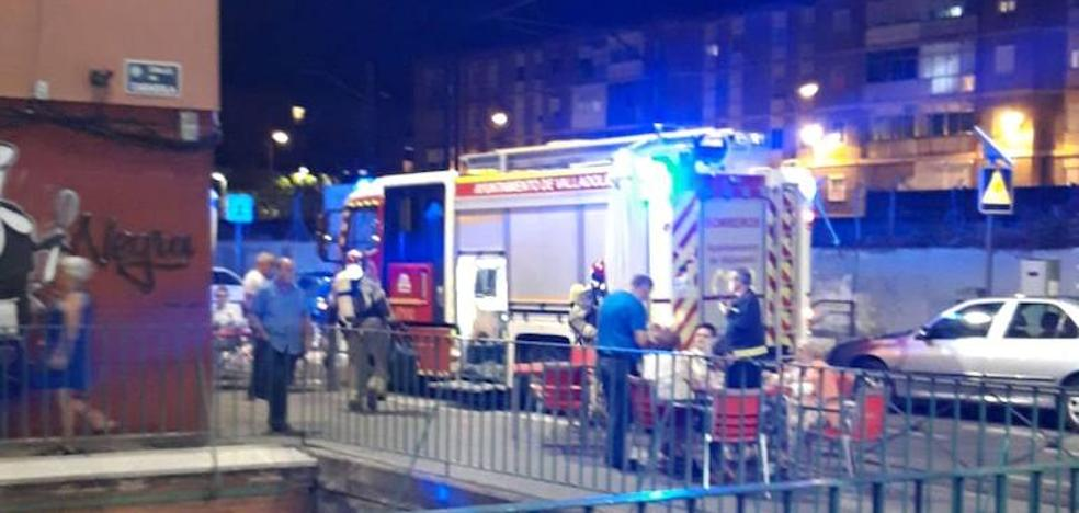 Sofocan un incendio en la cocina de un piso de la calle Casasola en Valladolid