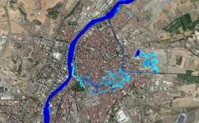 Los entornos de la Circular y el Campo Grande, en el eje «inundable» de Valladolid