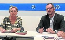 Javier Maroto asiste a la reunión del comité de dirección del PP segoviano