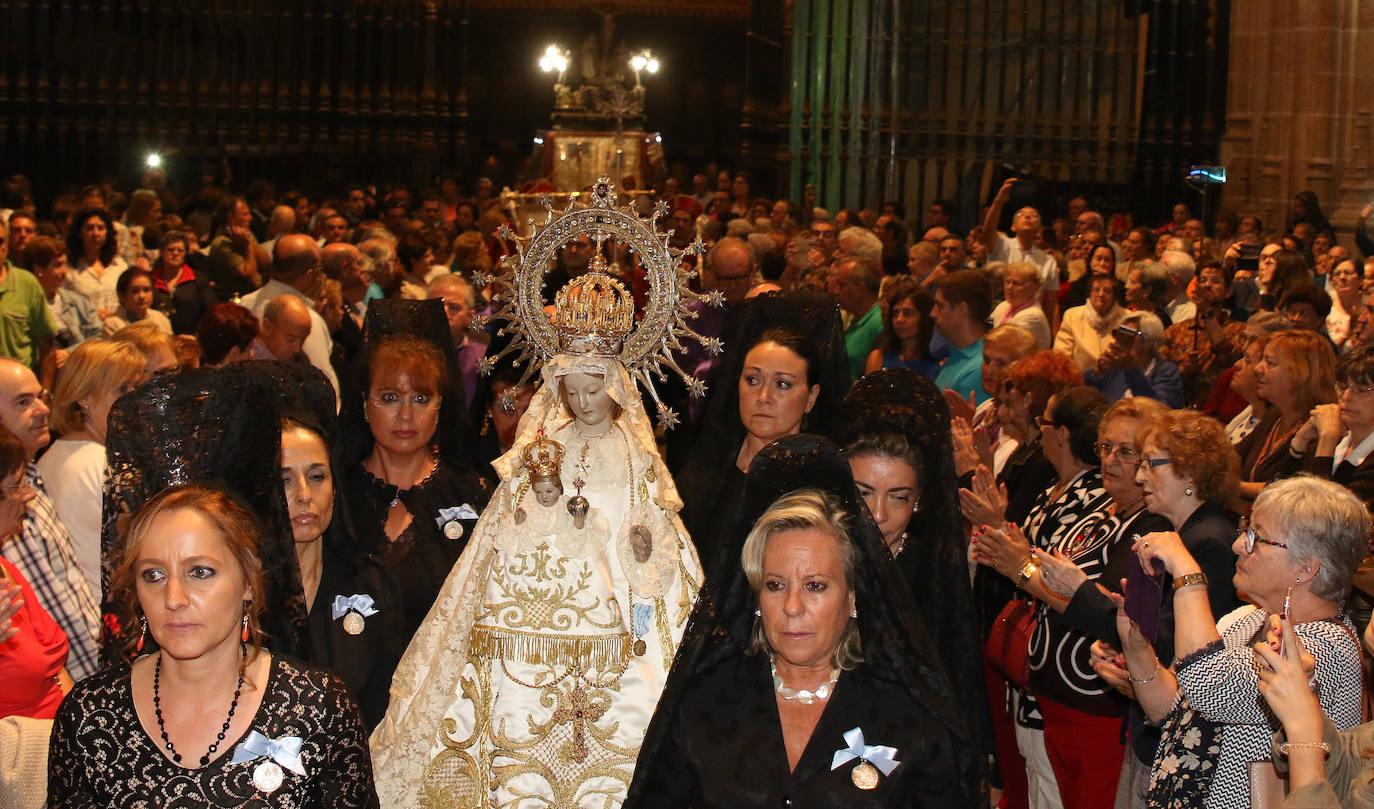 La Virgen de la Fuencisla ya está en la Catedral