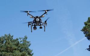 Tráfico vigilará mañana las carreteras palentinas con un dron