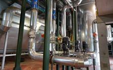 Las piscinas y los polideportivos de Soria se conectan a la Red de Calor con Biomasa de Soria