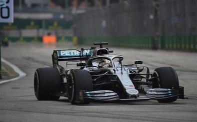 Hamilton empieza a poner orden