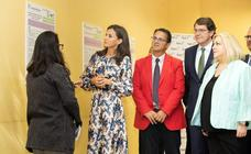 La Reina Letizia visita el Centro de Atención a Personas con Enfermedades Raras en Burgos