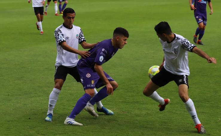 El filial del Salamanca CF UDS pierde ante el Palencia Cristo Atlético