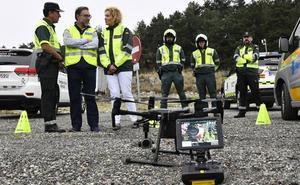 Los drones de tráfico ya sobrevuelan las carreteras de Segovia