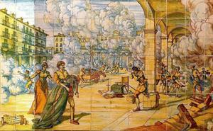 El gran incendio de Valladolid