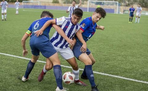 Un paciente Real Valladolid vence sin sufrir en su visita a Majadahonda