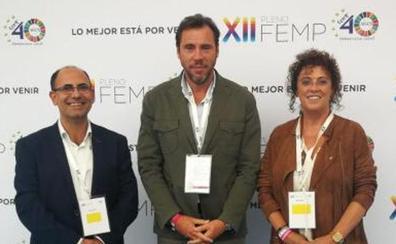 Óscar Puente, nuevo vocal de la Federación Española de Municipios y Provincias