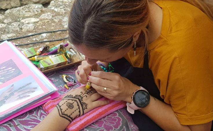 Las actividades de la fiesta de la vendimia en Serrada