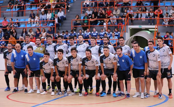 Presentación oficial del Fútbol Sala Salamanca Unionistas