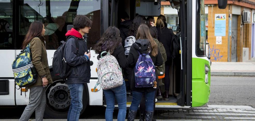 El bus urbano gratuito se ampliará desde enero en Valladolid a los menores de 15 años