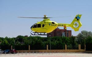Evacuado en helicóptero tras ser atropellado por su propio tractor en Moronta
