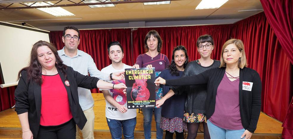 Veinte organizaciones de Valladolid se suman a la Huelga Mundial por el Clima