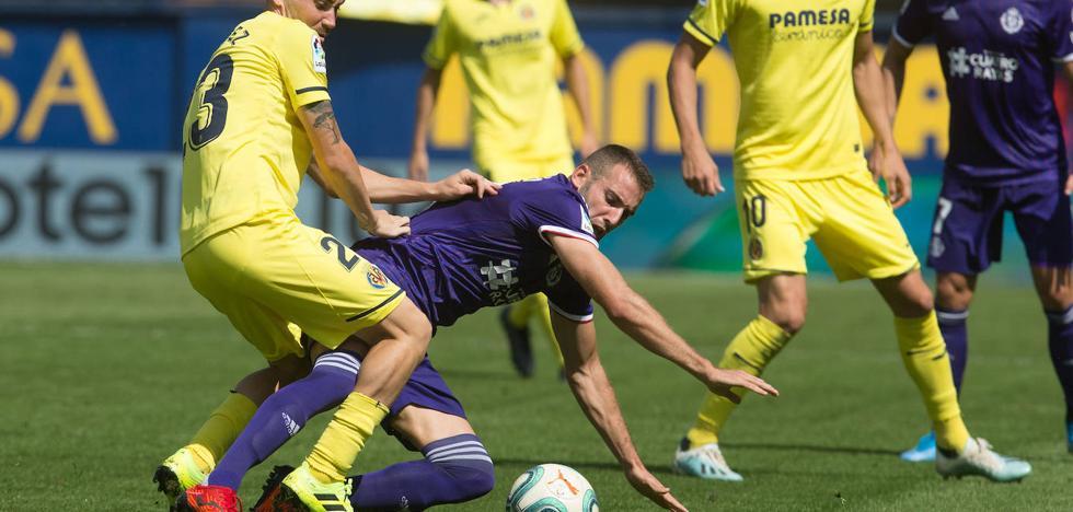 Sergio deja fuera del Real Valladolid-Granada a Fede Barba y Antoñito, titulares en Villarreal