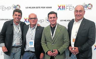 El presidente de la Diputación entra en el nuevo consejo territorial de la FEMP