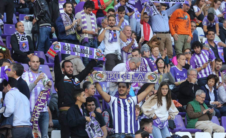 El Real Valladolid empata 1-1 en Zorrilla ante el Granada (2/2)