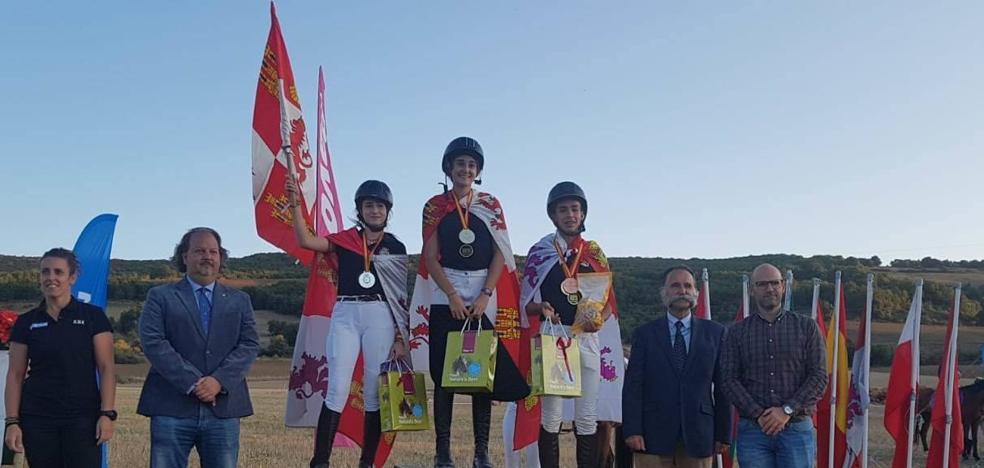 El TREC vallisoletano vuelve a conseguir medallas