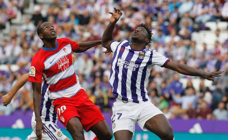 El Real Valladolid empata 1-1 en Zorrilla ante el Granada (1/2)