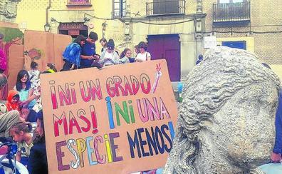 La Asamblea por el Clima llama a participar en la manifestación del viernes en Segovia