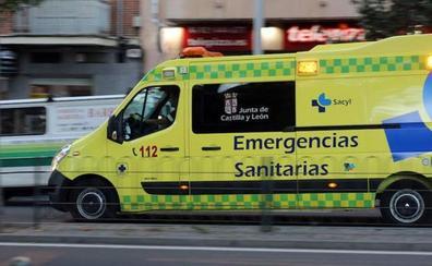 Un atropello y un accidente de moto dejan tres heridos en los accesos al Real de la Feria de Valladolid