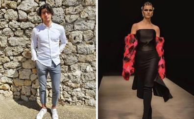Así son Juan Pablo Colías y Marina González, dos de los modelos que desfilarán en la Gala del Comercio