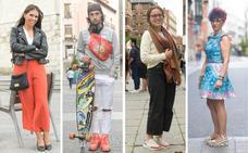 Los 'looks' más coloridos de los vallisoletanos para el 'veroño'