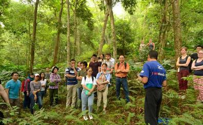 Seis alumnos de La Yutera, de 'Summer school' en Vietnam