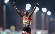 Chepngetich gana el oro en el maratón de la supervivencia