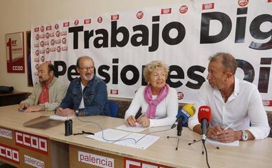 Los sindicatos reivindicarán en la calle una mejora del sistema de pensiones