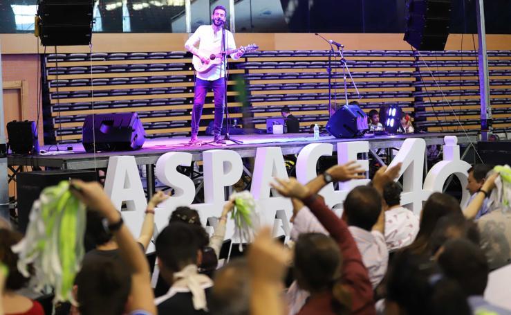 Concierto solidario del 40 aniversario de Aspace en Salamanca