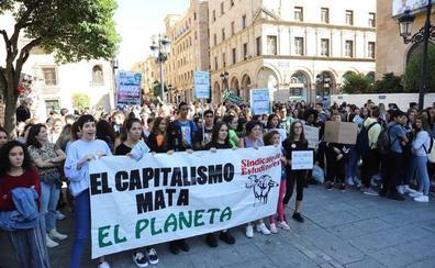 El cambio climático llevó a la huelga a 4.500 estudiantes