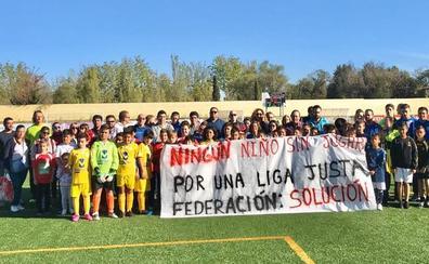 Protesta en el fútbol base salmantino por el injusto reparto de equipos en las ligas provinciales
