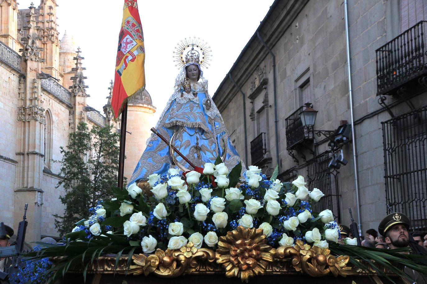 La Virgen de la Fuencisla regresa a su santuario