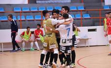 El Fútbol Sala Salamanca Unionistas gana con remontada final en el inicio de Liga (6-4)