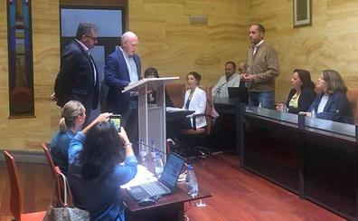 Samuel García, toima posesión como concejal y portavoz de Cs en el Real Sitio de San Ildefonso