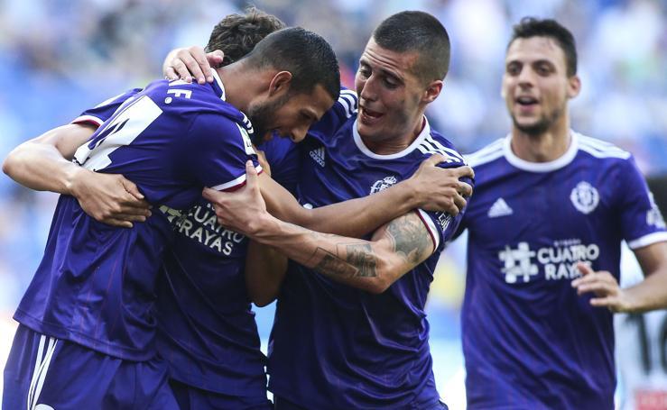 El Real Valladolid suma su segunda victoria de la temporada en el campo de un Espanyol