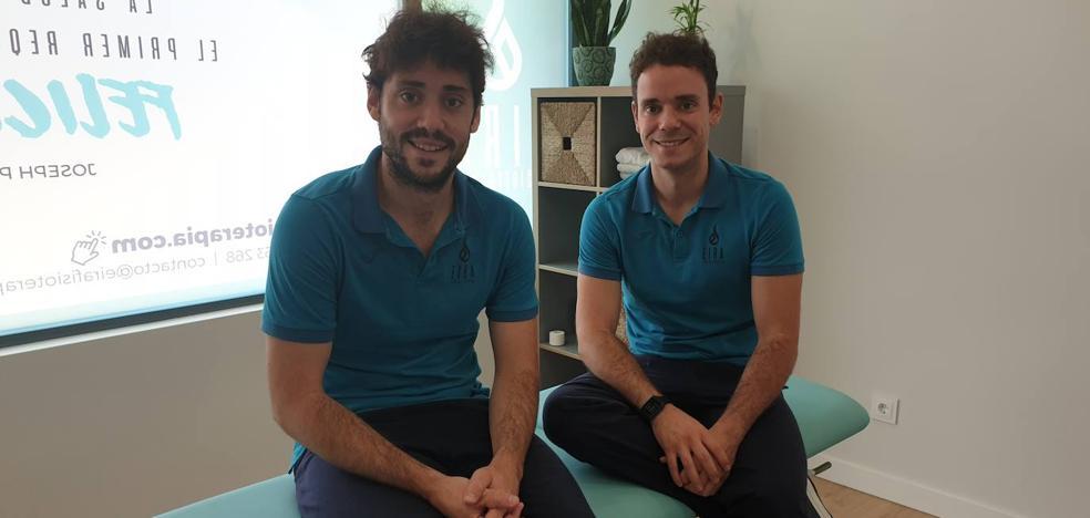 Dos hermanos y socios unidos por la fisioterapia