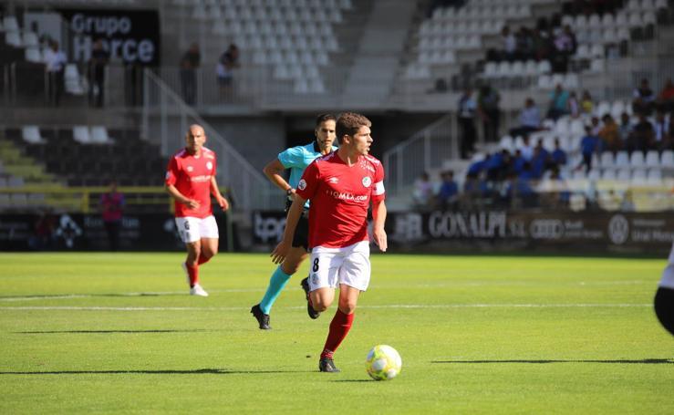 Las imágenes del partido del Burgos CF contra el Salamanca CF